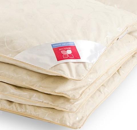 Одеяло пуховое зимнее Камелия 140х205