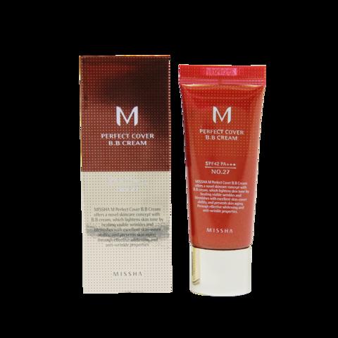 Тональный крем для лица M Perfect Cover BB Cream (No.21), 20 мл