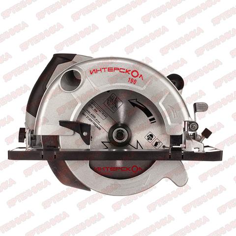 Пила дисковая Интерскол ДП-190/1600М в интернет-магазине ЯрТехника