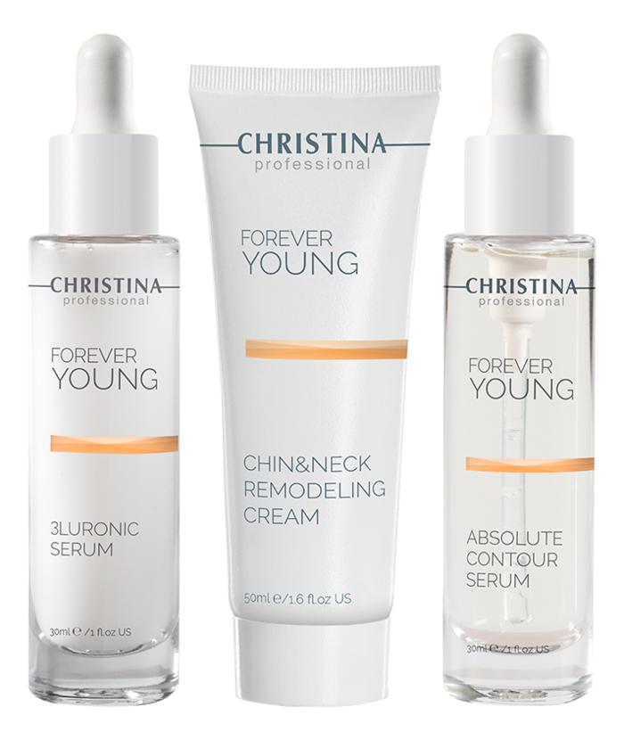 Christina Forever Young: Набор для лица «Совершенный контур» (Absolute Contour Kit), 3шт