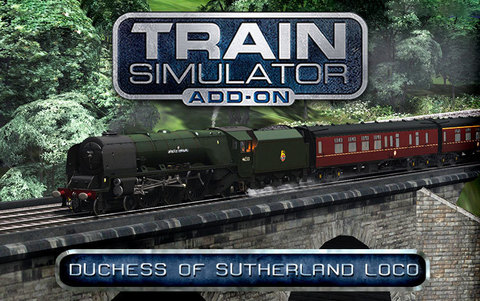 Train Simulator: Duchess of Sutherland Loco Add-On (для ПК, цифровой ключ)