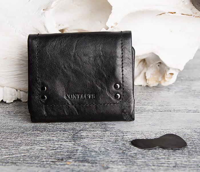 WL286-1 Мужской кожаный кошелек с монетницей