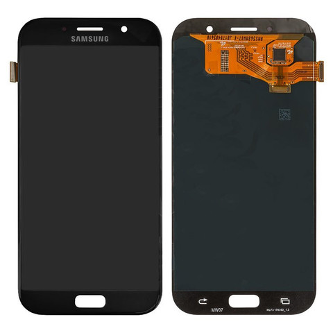 LCD SAMSUNG A7 2017 A720F + Touch Black Orig