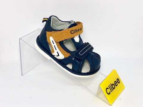 Clibee F266 Blue/Brown 18-23