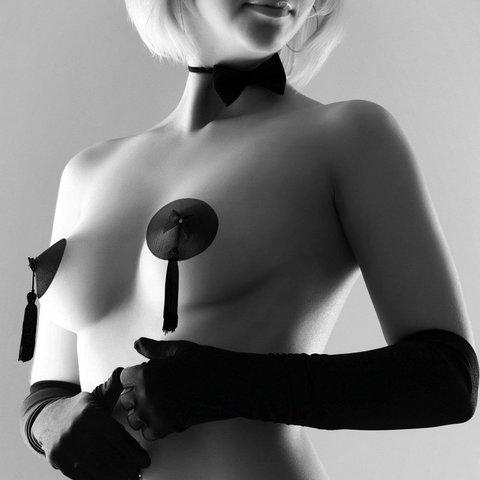 Bijoux Indiscrets Burlesque Pasties · Classic Tassel Украшение на грудь черное