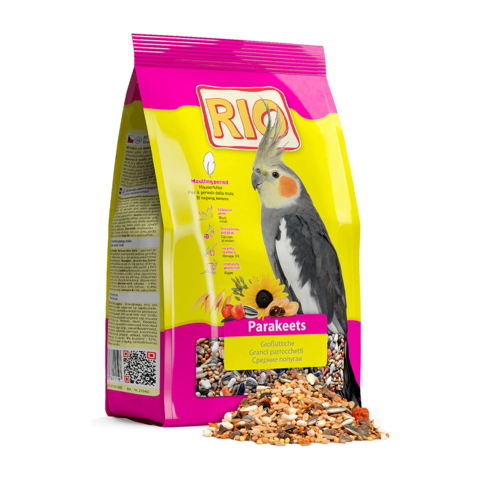 Rio Сухой корм для средних попугаев в период линьки