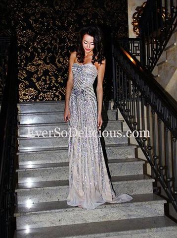 Анна в платье Jovani 4343