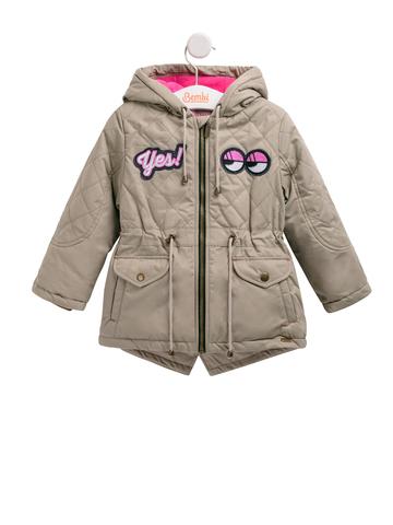 КТ167 Куртка (парка) для девочки