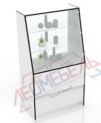 В-40 Витрина торговая с наклонным стеклом