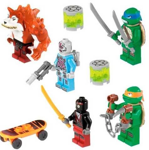 LEGO Teenage Mutant Ninja Turtles: Погоня на панцирном танке 79104 — Shellraiser Street Chase — Лего Черепашки-ниндзя мутанты
