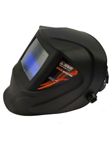 Сварочная маска Хамелеон с автоматическим светофильтром и креплением