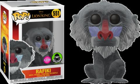 Фигурка Funko Pop! Disney: The Lion King (2019) - Rafiki (Flocked) (Excl. to Funko-Shop)