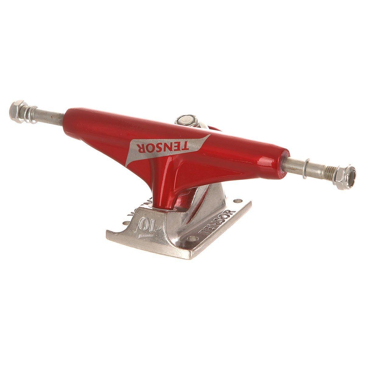 Подвески для скейтборда TENSOR Aluminium Reg Switch (Red/Raw)