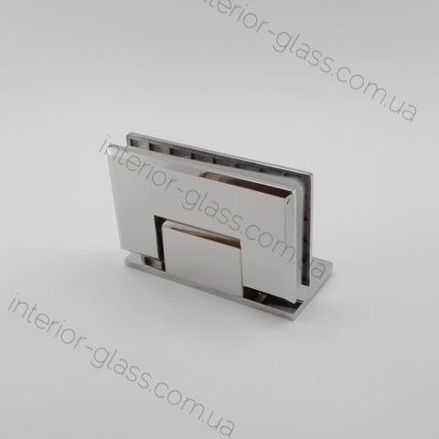 Петля душевая стекло-стена HDL-305 полированный хром