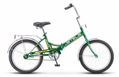 Складной велосипед Stels Pilot-410 зелено-желтый