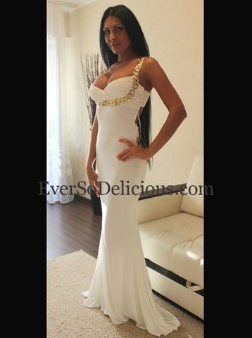 Наталья в платье Jovani 85131