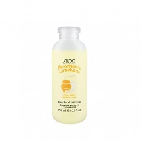 Kapous, Бальзам для всех типов волос «Молоко и мёд», 350 мл
