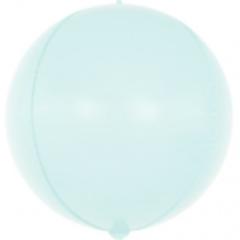 К 24''/61см, Сфера 3D, Макарунс, Светло-голубой, 1 шт.