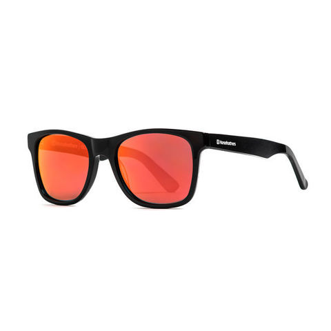 Очки Horsefeathers Foster Sunglasses Gloss Black/Mirror Red
