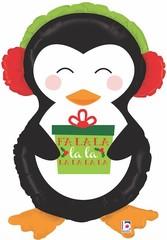 Г Фигура, Пингвин с новогодним подарком, 34