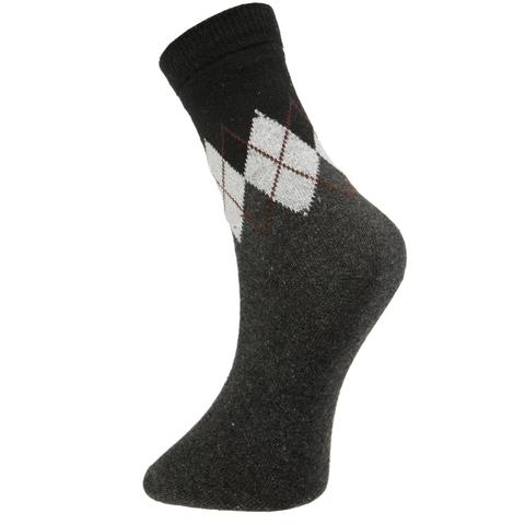 Мужские носки темно-серые ROMEO ROSSI с шерстью 8039-4