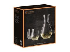 Набор из 3-х предметов, декантер + 2 стакана