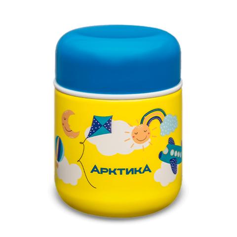 Термос для еды детский Арктика (0,28 литра), желтый