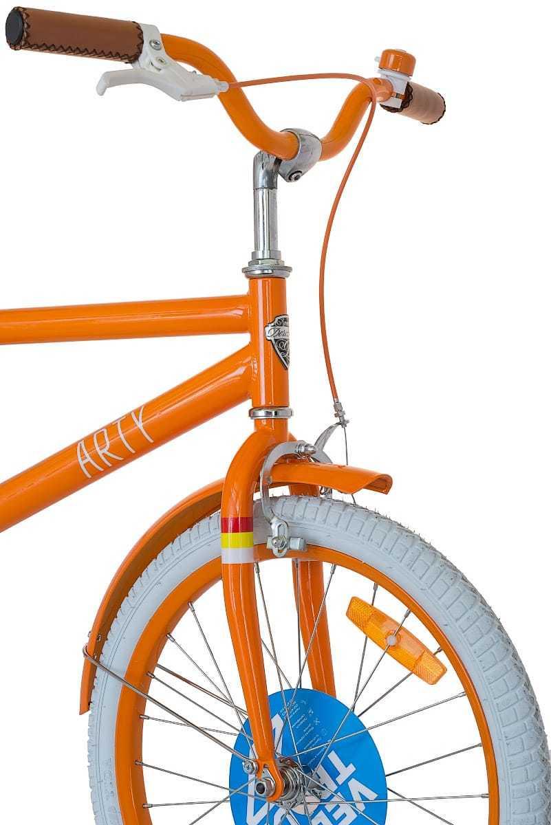 Велосипед Dorozhnik Arty - кермо, вилка, переднє гальмо, колесо