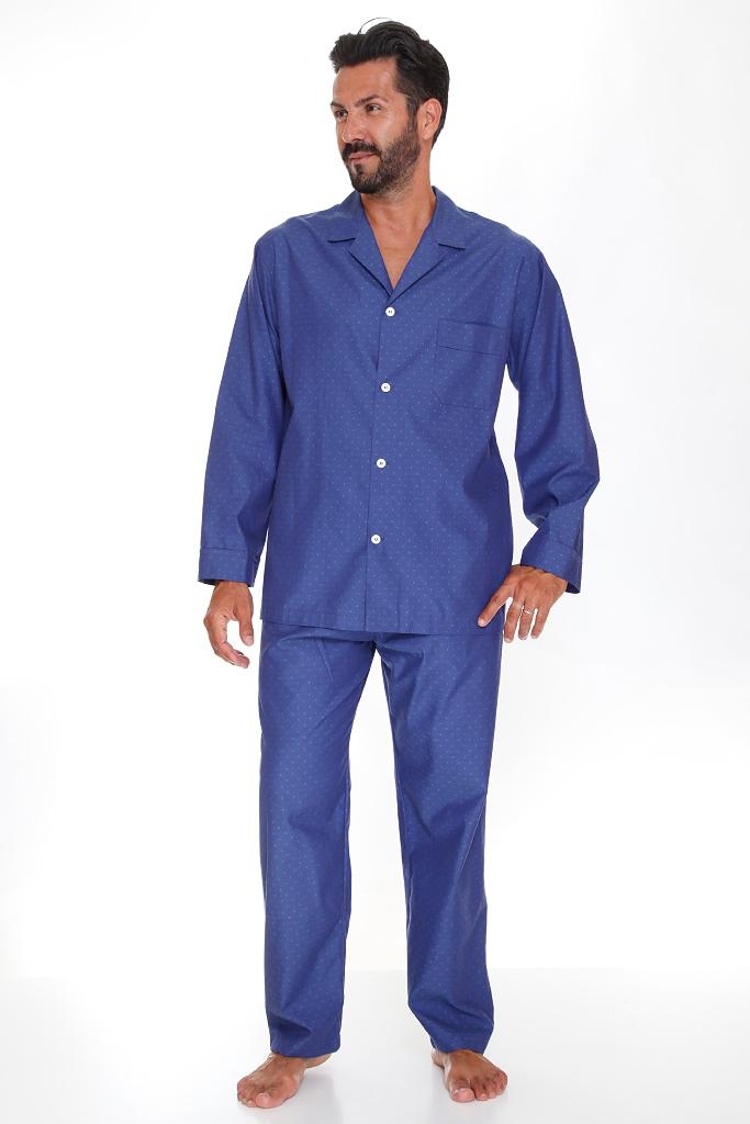 Мужская пижама с жаккардовым рисунком B&B