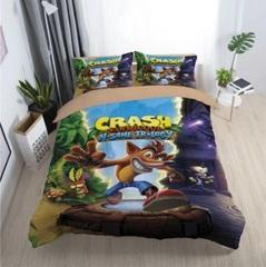 Крэш Бандикут постельное белье детское