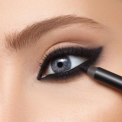 Карандаш для глаз Romanovamakeup Sexy Smoky Eye Pencil Carbon black черный