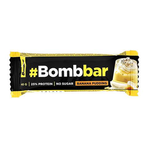 BOMBBAR Батончик глазированный Банановый пудинг 40 г