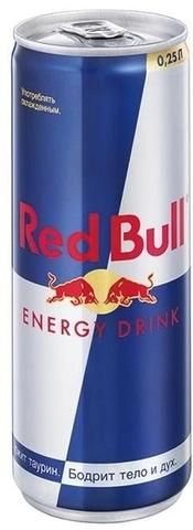 Энергетический напиток Ред-Булл 250мл
