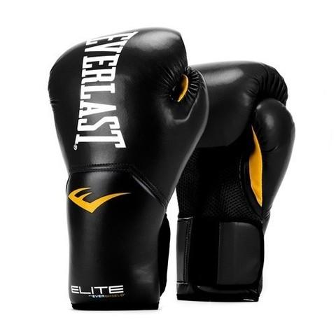 Перчатки боксерские Elite ProStyle, Everlast чёрные