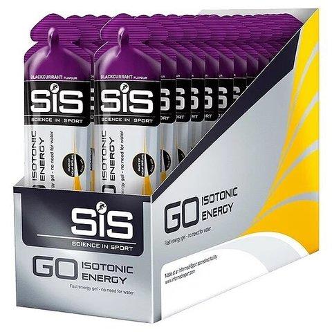 Гель изотонический Sience in Sport Go Isotonic Gel, упаковка 30х60 ml, Черная смородина