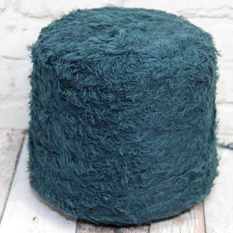 Смесовка с шерстью COFIL / RAQUEL 100 синий петрольный