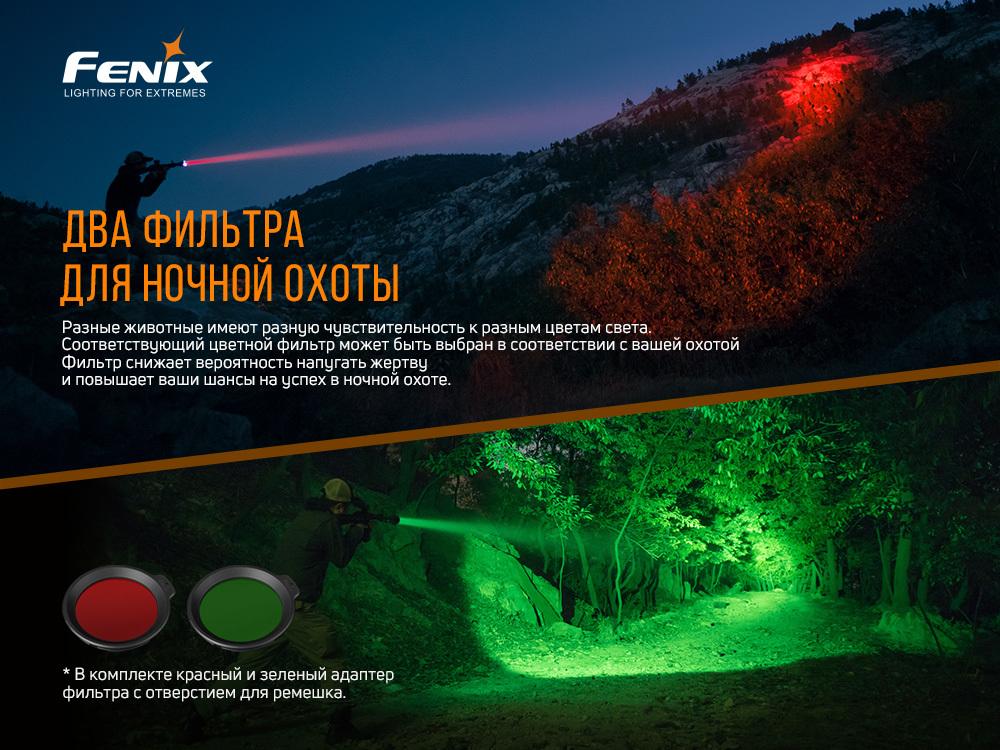 Фонарь Fenix HT18 - фотография