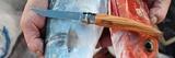 Нож складной филейный Opinel №12 VRI Folding Slim Olivewood
