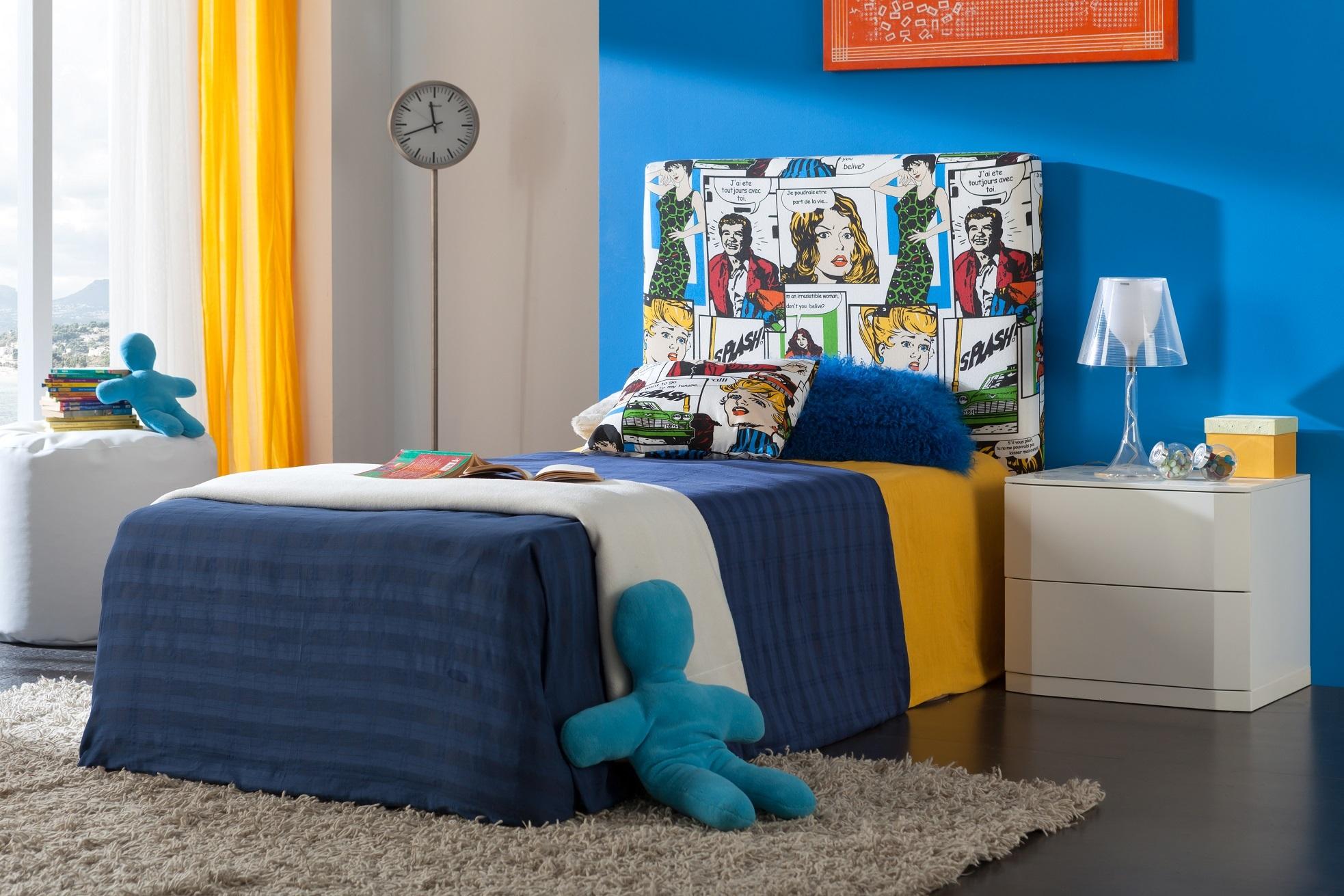 Кровать Dupen (Дюпен) 702 COMIC и Тумба DUPEN m-102