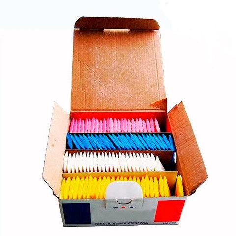 Мел мыло портновское для раскроя разноцветное Apollo (100шт/упак) | Soliy.com.ua