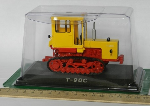 Модель Трактор №62 Т-90С (история, люди, машины)