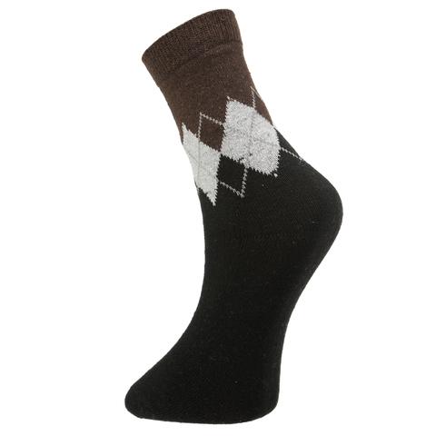Мужские носки черные ROMEO ROSSI с шерстью 8039-2
