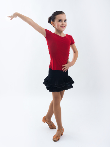 Детская футболка с коротким рукавом  для танцев