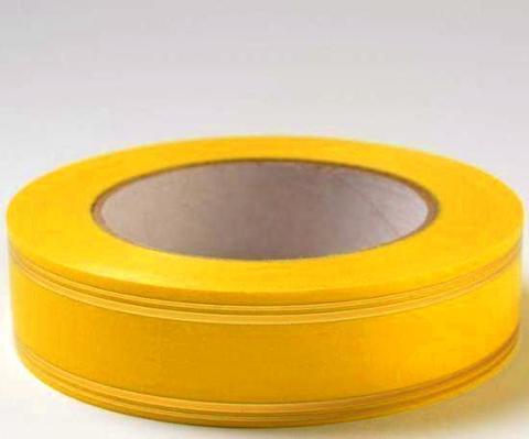 Лента золотая полоса PL (размер: 2 см х 50 ярдов) Цвет: желтый