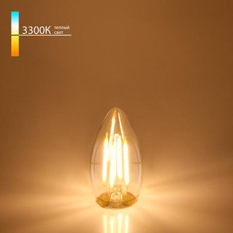 Светодиодная лампа Свеча CD F 7W 3300K E27