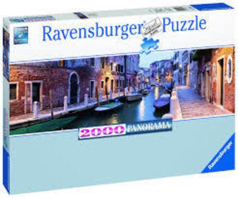 Puzzle Ravensburger Венеция Панорама 2000 деталей