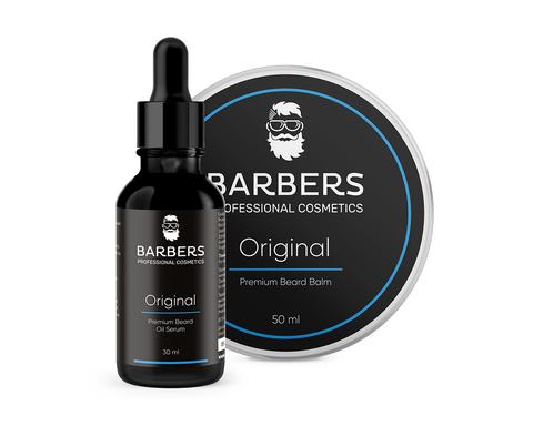 Набір для догляду за бородою Barbers Original 80 мл (1)