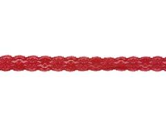 Кружево эластичное красное 2 см