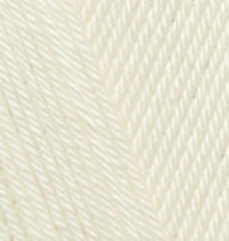 Пряжа Alize Diva Молочный 01 купить в интернет-магазине
