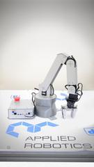 Учебный робот-манипулятор с угловой кинематикой и комплектом навесного оборудования